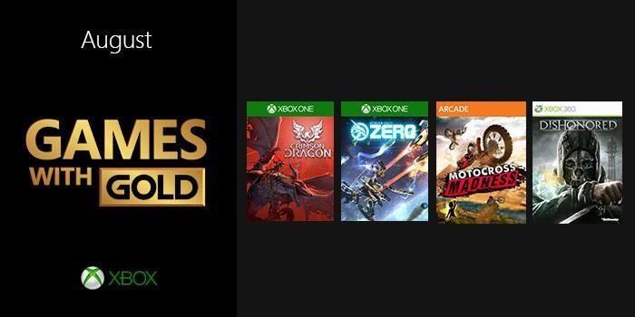 Se Anunciaron Los Juegos Gratis De Agosto Para Games With Gold De