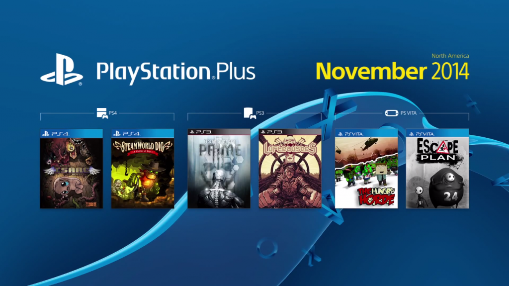 Playstation Plus Juegos Gratis Noviembre 2014 Lado Vg